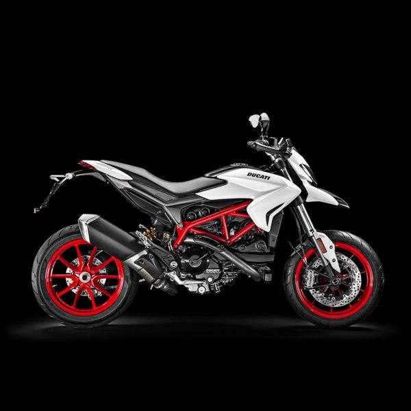 image Hypermotard 939 white Paris Nord Moto