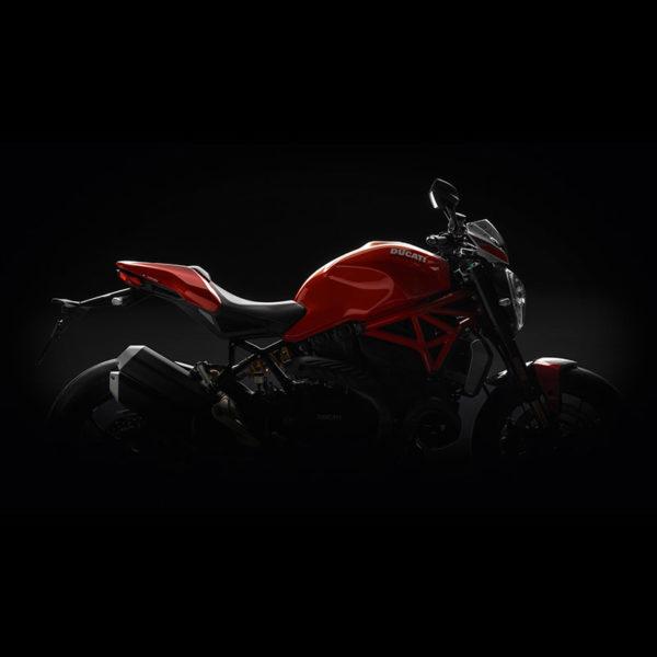 image 01 Ducati Monster 1200R Paris Nord Moto