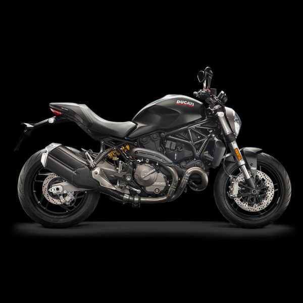 image Ducati Monster 821 black Paris Nord Moto