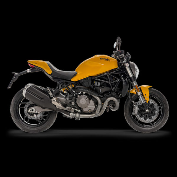 image Ducati Monster 821 yellow Paris Nord Moto