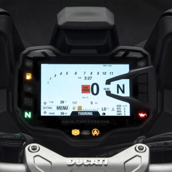 image compteur Multistrada 1260 Paris Nord Moto