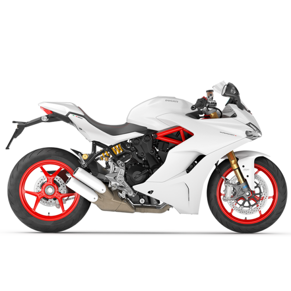 SuperSport S White Paris Nord Moto