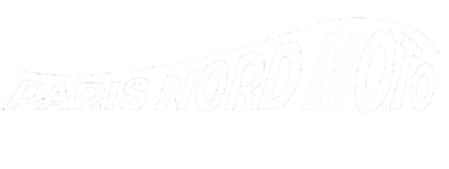 Logo Paris Nord Moto Blanc
