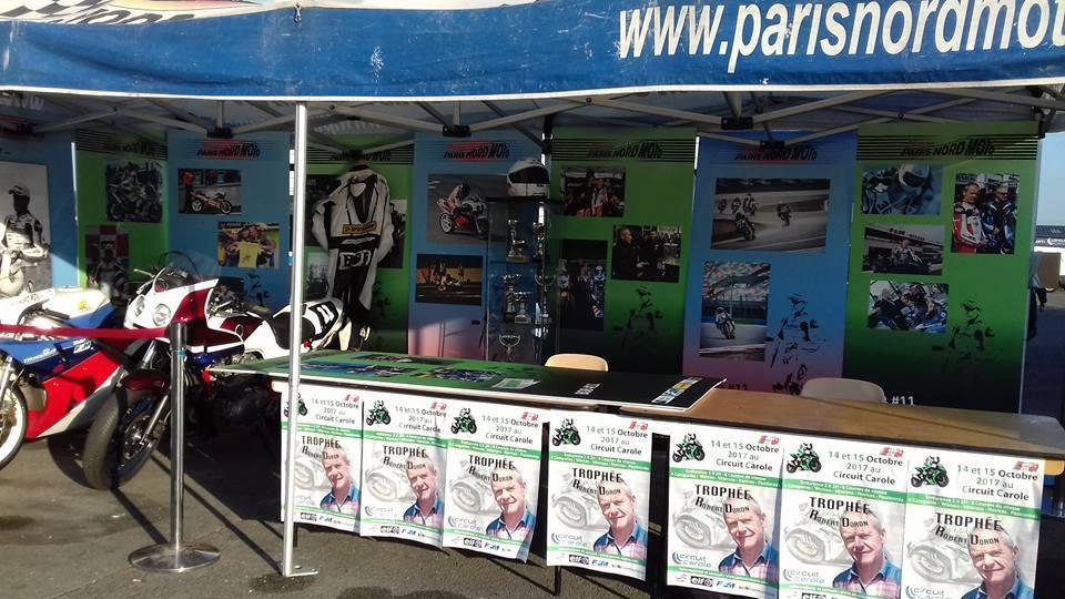 image Stand Paris Nord Moto Trophée Robert Doron