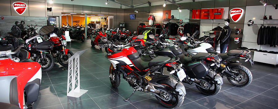 image showroom Ducati