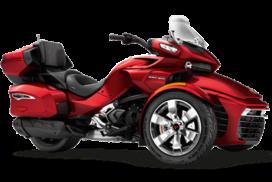 image menu spiderF3T CAN-AM Paris Nord moto