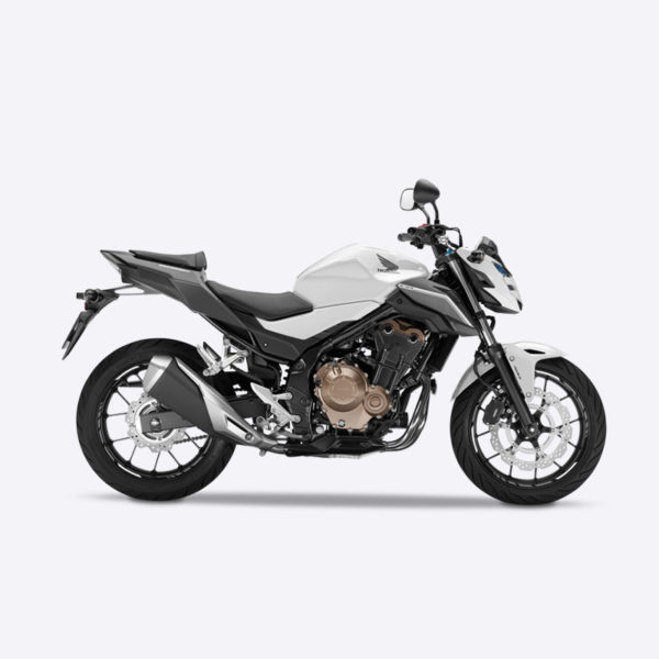 image CB500F blanc Paris Nord Moto
