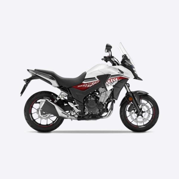 image CB500X 2017 blanc Honda Paris Nord moto