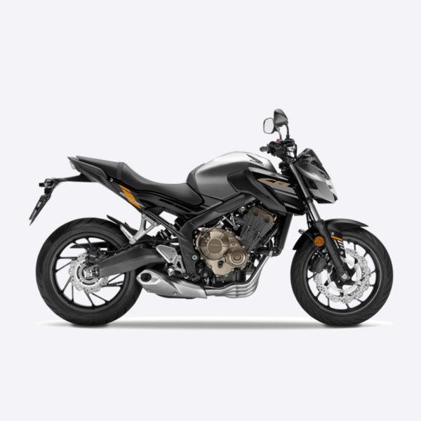 image CB650F 2017 argent honda Paris Nord Moto