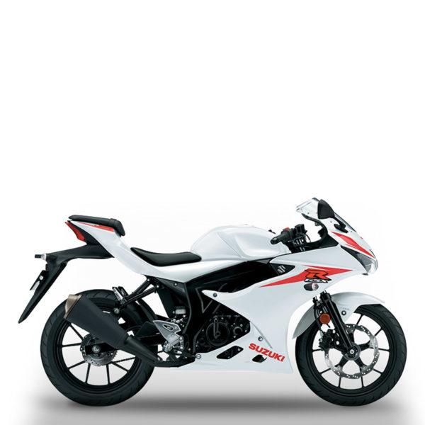 image GSX-R125 blanc Suzuki Paris Nord moto