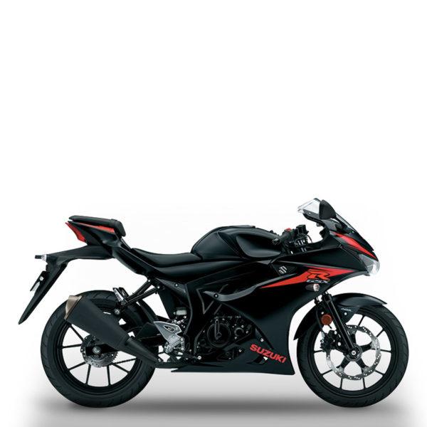image GSX-R125 noir Suzuki Paris Nord moto