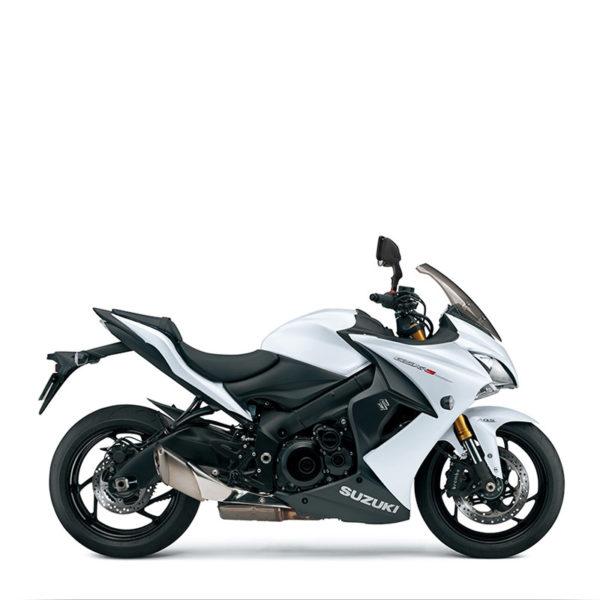 image GSX-S1000F blanc chez Suzuki Paris Nord moto