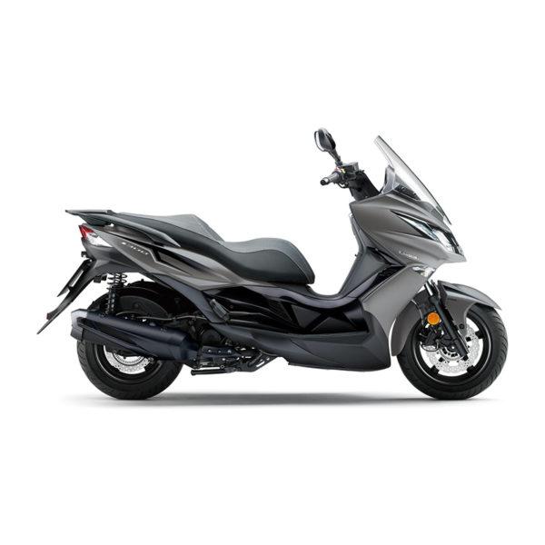 image scooter J300 2018 Gris Kawasaki Paris Nord Moto