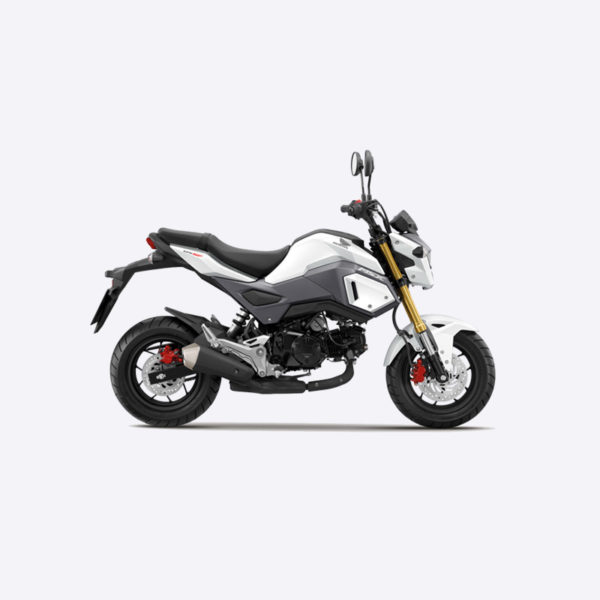 image Honda MSX blanc Paris Nord Moto