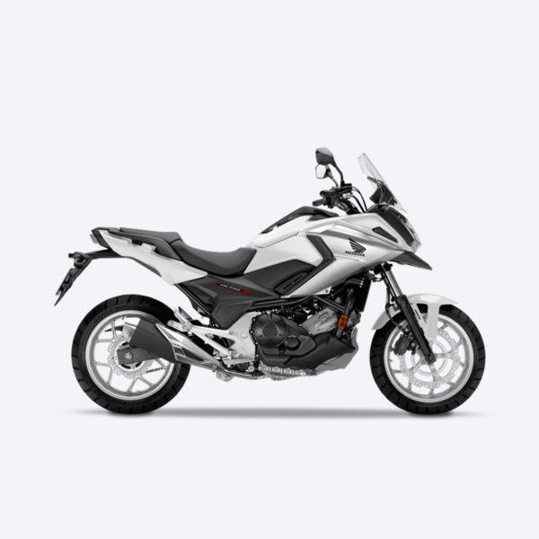 image NC750X 2017 blanc mat Honda Paris Nord Moto