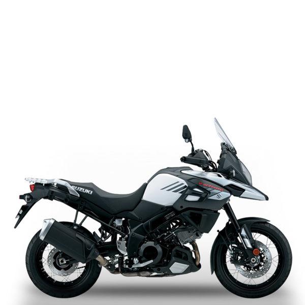 V-Strom 1000XT blanc Suzuki Paris Nord Moto