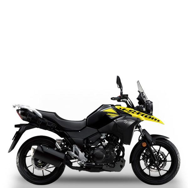 V-STORM 250 jaune Suzuki Paris Nord moto