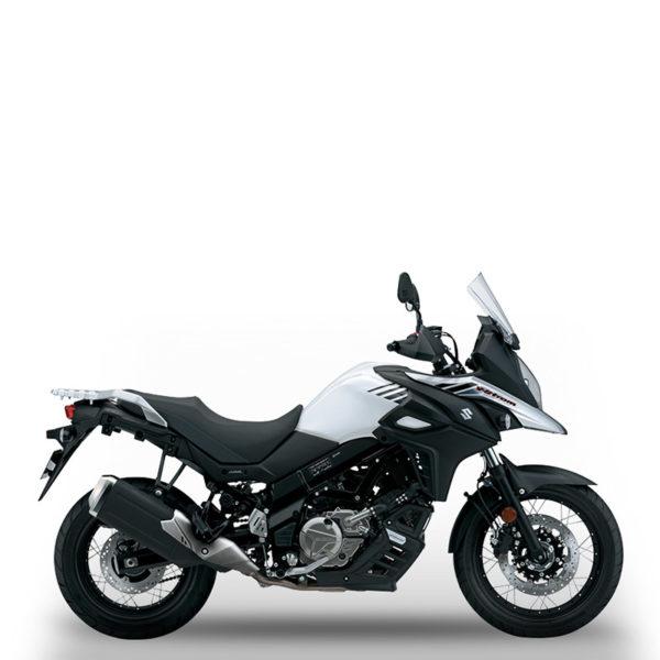 V-Strom 650XT blanc Suzuki Paris Nord Moto