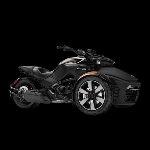 image spiderF3S noir Can-Am Paris Nord Moto