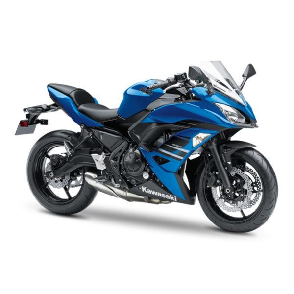 image galerie Ninja 650 bleu Paris Nord Moto
