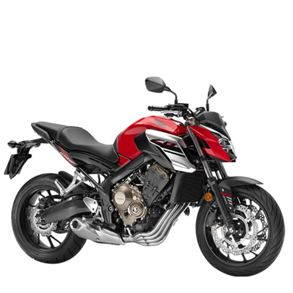 CB650F chez Honda Paris Nord Moto