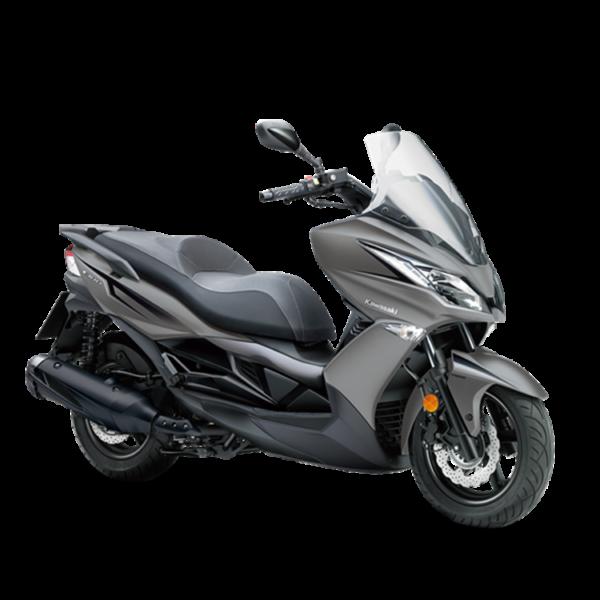 image scooter J300 2018 chez Kawasaki Paris Nord Moto