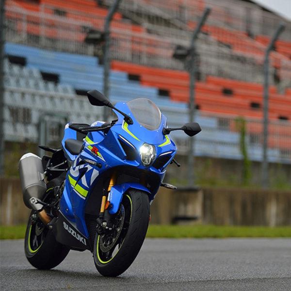 image GSXR1000 chez Suzuki Paris Nord moto