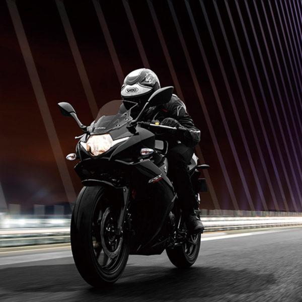image 01 GSX-250R chez Suzuki Paris Nord moto