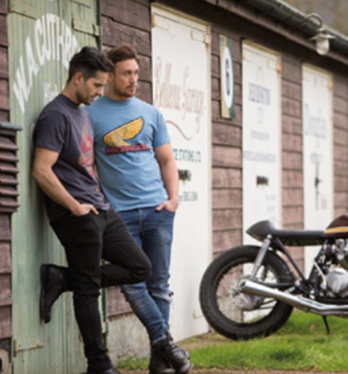 image 03 Vêtements T-shirt officiels Honda en vente chez Paris Nord Moto