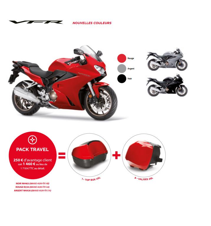 Accessoires Honda VFR Paris Nord Moto