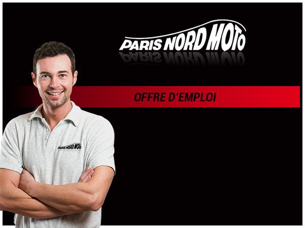 recrutement vendeur equipement moto paris nord moto