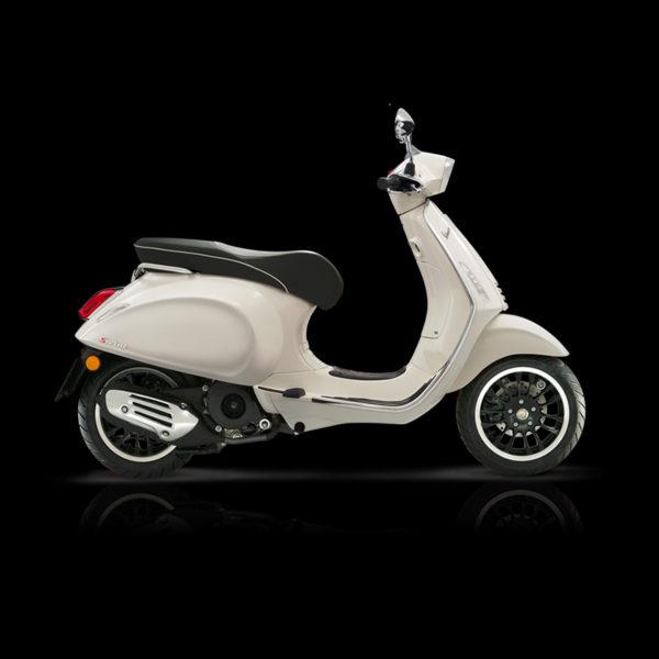 Vespa Sprint 125 blanc Piaggio Paris Nord Moto