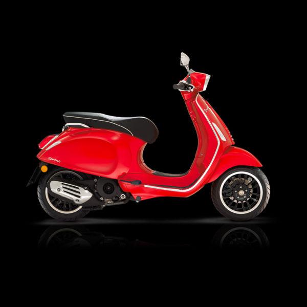Vespa Sprint 125 rouge Piaggio Paris Nord Moto