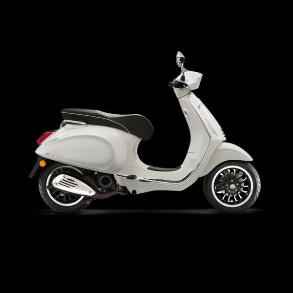 image Vespa Sprint 50 blanc Piaggio Paris Nord Moto