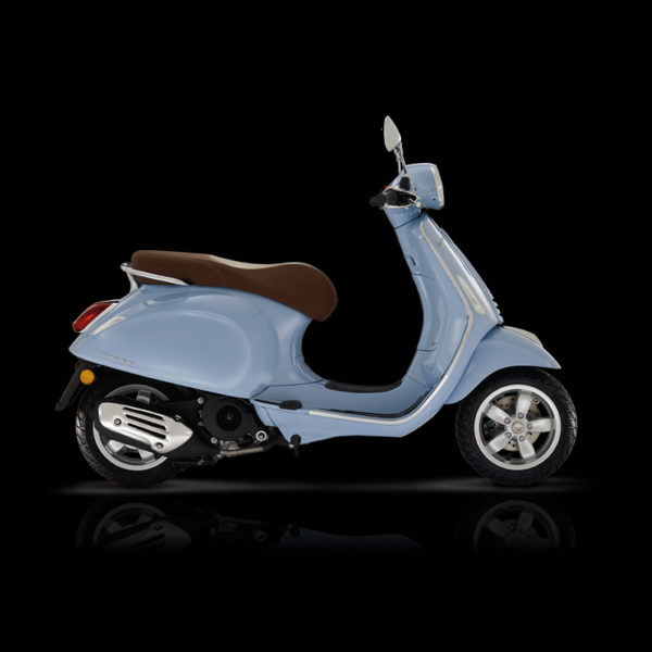 Vespa Primavera 50 bleu Piaggio Paris Nord Moto
