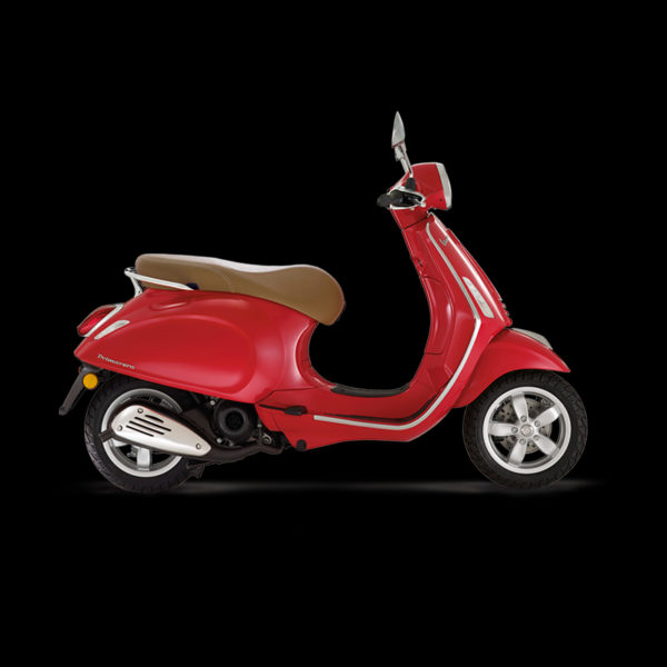 Vespa Primavera 50 rouge Piaggio Paris Nord Moto