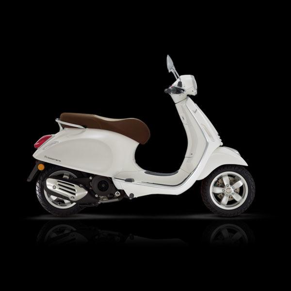 Vespa Primavera 125 blanc Piaggio Paris Nord Moto