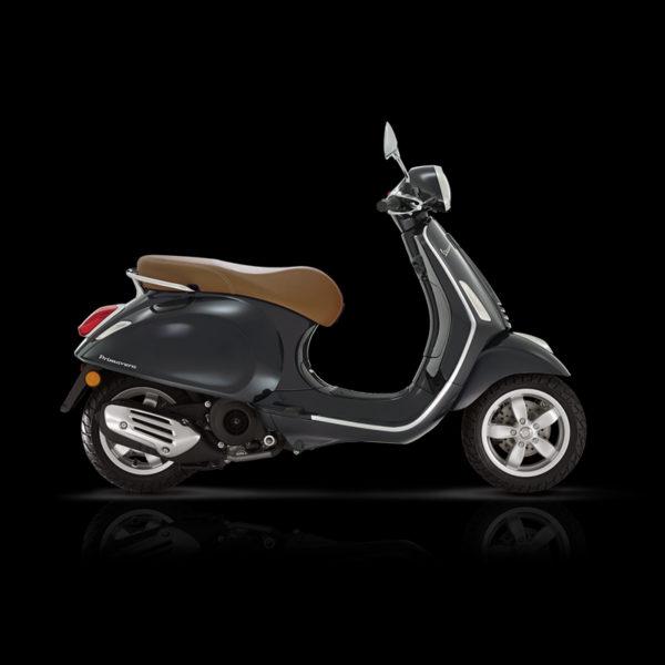 Vespa Primavera 125 noir Piaggio Paris Nord Moto