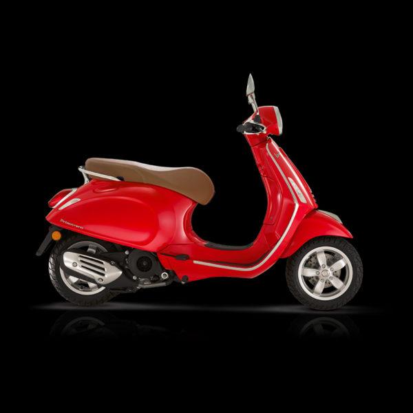 Vespa Primavera 125 rouge Piaggio Paris Nord Moto