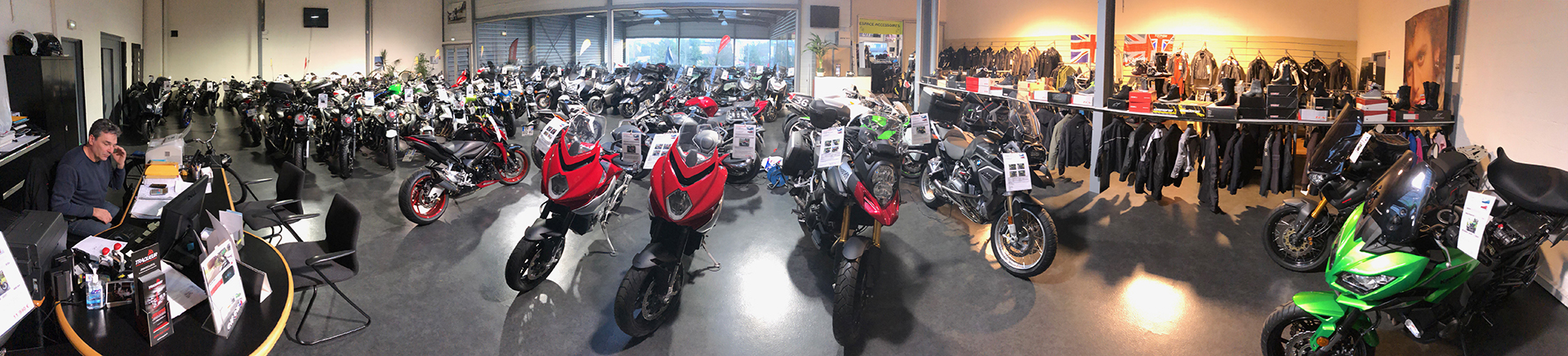 showroom occasion Paris Nord Moto