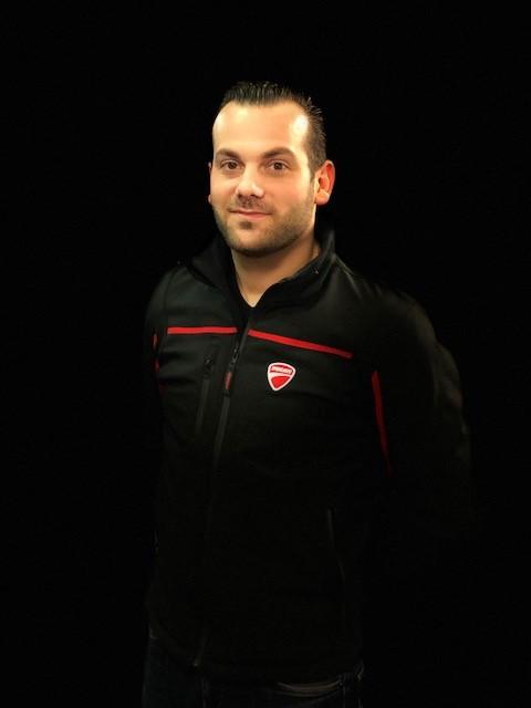 Gregory vendeur Ducati Paris Nord Moto