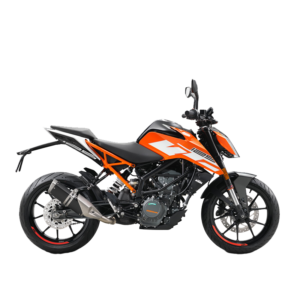 KTM Duke 125 orange black